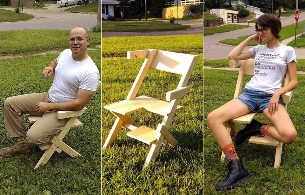 Esta silla está destinada a personas bisexuales