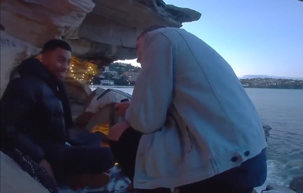 Video romántico de propuesta de matrimonio gay se ha vuelto viral